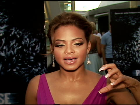christina milian on horror films her favorite scene in the film on acting in a horror film on technology and loving all sorts of electronic and... - 2006 stock videos & royalty-free footage