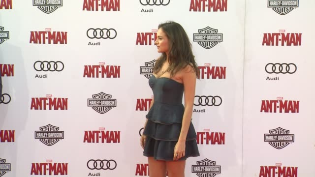 Christina Ochoa at The World Premiere of Marvel's AntMan at Dolby Theatre on June 29 2015 in Hollywood California