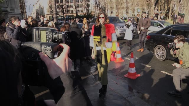 christina pitanguy attends the chloe show as part of the paris fashion week womenswear fall/winter 2016/2017 on march 3 2016 in paris france - chloe designer label stock videos and b-roll footage