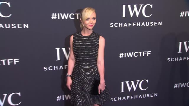Christina Ricci at IWC Schaffhausen 5th Annual Tribeca Film Festival Event at Spring Studios on April 20 2017 in New York City