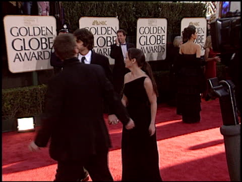 christina ricci at the 2004 golden globe awards at the beverly hilton in beverly hills, california on january 25, 2004. - christina ricci stock videos & royalty-free footage