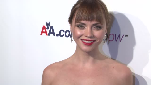 Christina Ricci at the 9th Annual Elton John AIDS Foundation's 'An Enduring Vision' at New York NY