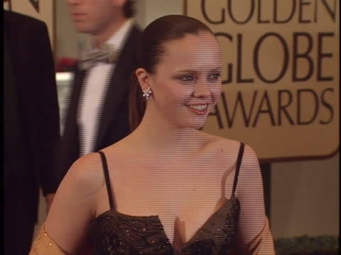 Christina Ricci at the Golden Globes 99 at Beverly Hilton