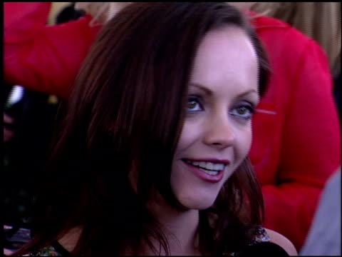 Christina Ricci at the Independent Spirit Awards on March 23 2002