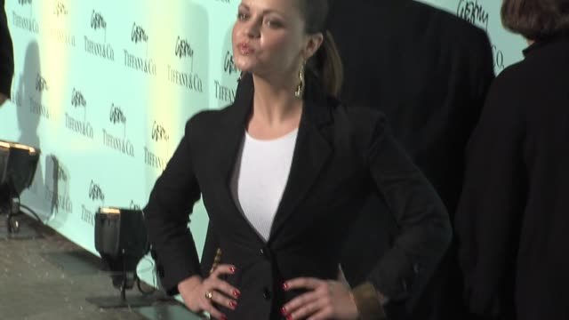 christina ricci at the tiffany & co celebrates the launch of frank gehry's premiere collection on rodeo drive at tiffany & co. in beverly hills,... - christina ricci stock videos & royalty-free footage