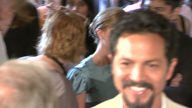 vídeos de stock, filmes e b-roll de christina ricci, benjamin bratt at the 2009 outfest opening night gala of 'mission' at los angeles ca. - benjamin bratt