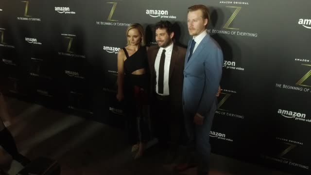 christina ricci, joe lewis and david hoflin and cast at z: the beginning of everything at sva theater on january 25, 2017 in new york city. - christina ricci stock videos & royalty-free footage