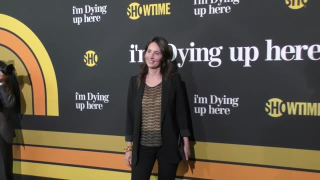 christina wayne at the premiere of showtime's 'i'm dying up here' - arrivals on may 31, 2017 in los angeles, california. - showtime video stock e b–roll