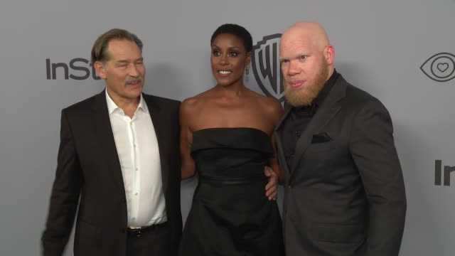 Christine Adams James Remar and Marvin Jones III at the Warner Bros Pictures and InStyle Host 19th Annual PostGolden Globes Party at The Beverly...