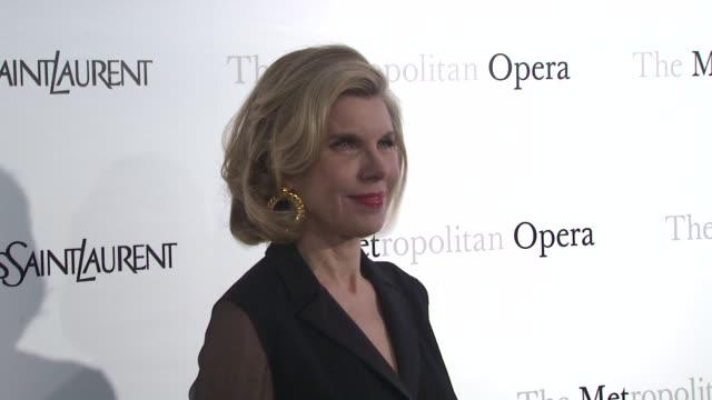 Christine Baranski at Metropolitan Opera Gala Premiere Of Jules Massenet's Manon at The Metropolitan Opera House on March 26 2012 in New York New York