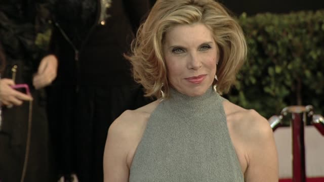 Christine Baranski at the 16th Annual Screen Actors Guild Awards Arrivals at Los Angeles CA