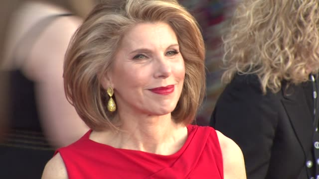 Christine Baranski at the 17th Annual Screen Actors Guild Awards Arrivals at Los Angeles CA