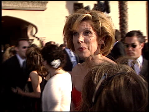Christine Baranski at the 2003 Screen Actors Guild SAG Awards at the Shrine Auditorium in Los Angeles California on March 9 2003