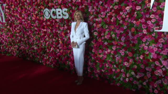 Christine Baranski at the 2018 Tony Awards Red Carpet at Radio City Music Hall on June 10 2018 in New York City