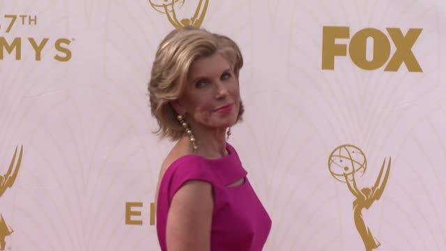 Christine Baranski at the 67th Annual Primetime Emmy Awards at Microsoft Theater on September 20 2015 in Los Angeles California