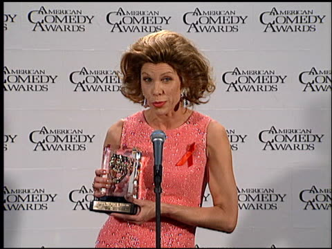 Christine Baranski at the American Comedy Awards at the Shrine Auditorium in Los Angeles California on February 11 1996