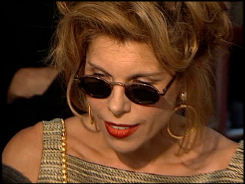 Christine Baranski at the 'Conspiracy Theory' Premiere at the Mann Village Theatre in Westwood California on August 4 1997