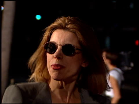 Christine Baranski at the 'Michael Collins' Premiere at Academy Theater in Beverly Hills California on October 7 1996