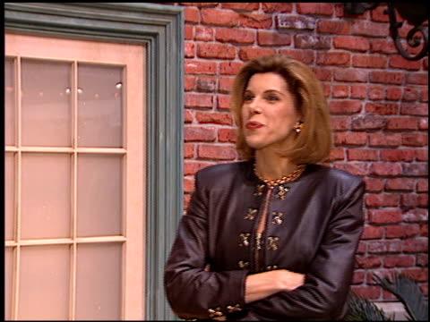 Christine Baranski at the NATPE on January 15 1997