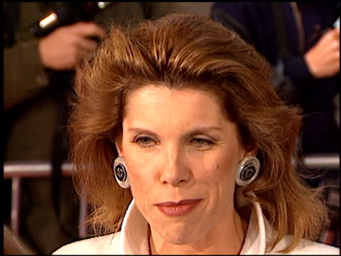 Christine Baranski at the Premiere of 'The Birdcage' on March 5 1996