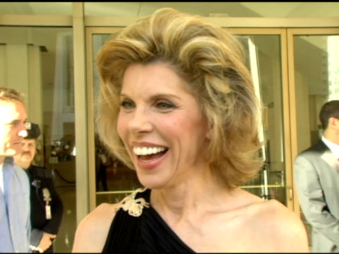 Christine Baranski on how prestigeous this award is and how nice it is to award one person at a time on the film she just finished with Jessica Lange...