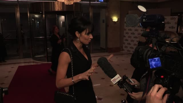 christine bleakley at the 'sky women in film & television awards 2011'. christine bleakley at park lane hilton on december 02, 2011 in london, england - christine bleakley stock videos & royalty-free footage