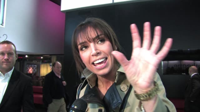 christine bleakley at the uk premiere of 'a turtle's tale: sammy's adventure 3d' sighted: christine bleakley at the bfi, southbank on march 20, 2011... - christine bleakley stock videos & royalty-free footage