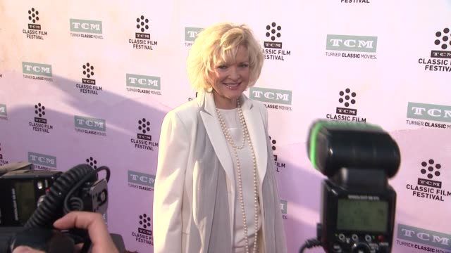 christine ebersole at the 50th anniversary screening of the sound of music at tcl chinese theatre imax on march 26 2015 in hollywood california - tcl chinese theatre stock videos & royalty-free footage