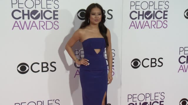 christine ko at the people's choice awards 2017 at microsoft theater on january 18, 2017 in los angeles, california. - people's choice awards stock videos & royalty-free footage