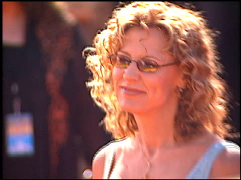 christine lahti at the 2000 emmy awards at the shrine auditorium in los angeles, california on september 10, 2000. - shrine auditorium video stock e b–roll