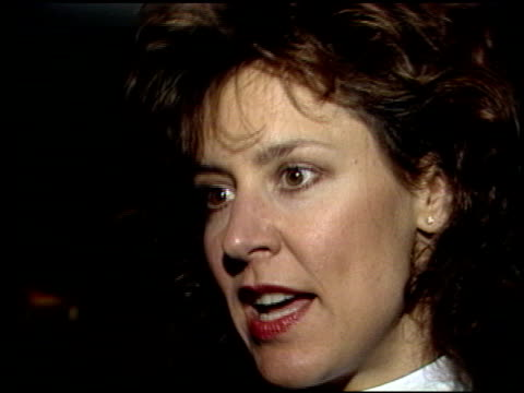 christine lahti at the los angeles film critics awards 1989 at the bel age hotel in west hollywood, california on january 24, 1989. - 評論家点の映像素材/bロール