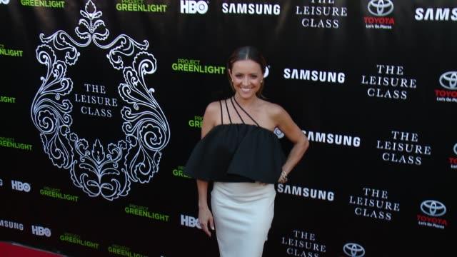 Christine Lakin at Matt Damon Ben Affleck Adaptive Studios And HBO Present The Project Greenlight Season 4 Winning Film The Leisure Class at The...