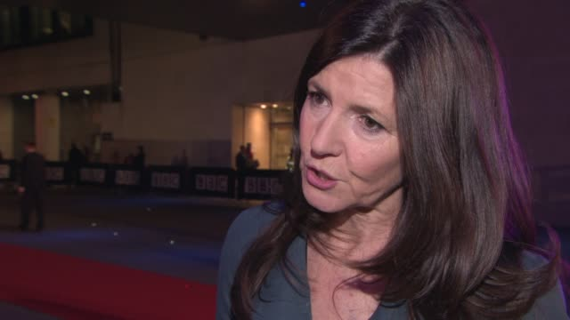 vidéos et rushes de christine langan on the films bbc films have made, working with ricky gervais on 'life on the road' at bbc films 25th anniversary reception at bbc... - ricky gervais