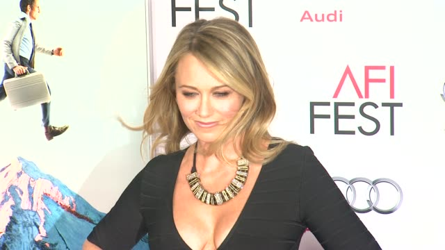"""christine taylor at afi fest 2013 premiere of """"the secret life of walter mitty"""" in hollywood, ca, on . - christine taylor stock videos & royalty-free footage"""