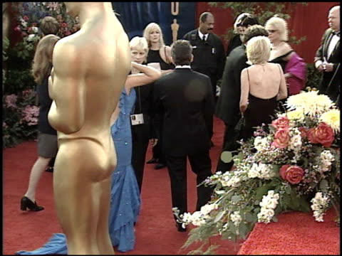 christine taylor at the 2001 academy awards at the shrine auditorium in los angeles california on march 25 2001 - 73rd annual academy awards stock videos & royalty-free footage