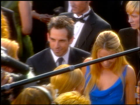 christine taylor at the 2001 academy awards at the shrine auditorium in los angeles, california on march 25, 2001. - 第73回アカデミー賞点の映像素材/bロール
