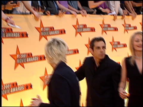 christine taylor at the 2001 mtv movie awards entrances at the shrine auditorium in los angeles, california on june 2, 2001. - christine taylor stock videos & royalty-free footage