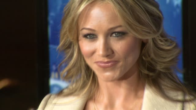 christine taylor at the 'blades of glory' premiere at grauman's chinese theatre in hollywood, california on march 28, 2007. - christine taylor stock videos & royalty-free footage