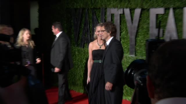 christine taylor, ben stiller at the 2010 vanity fair oscar party hosted by graydon carter at west hollywood ca. - christine taylor stock videos & royalty-free footage