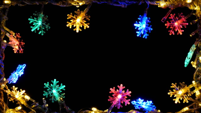 christmas background 4k - fairy lights stock videos & royalty-free footage