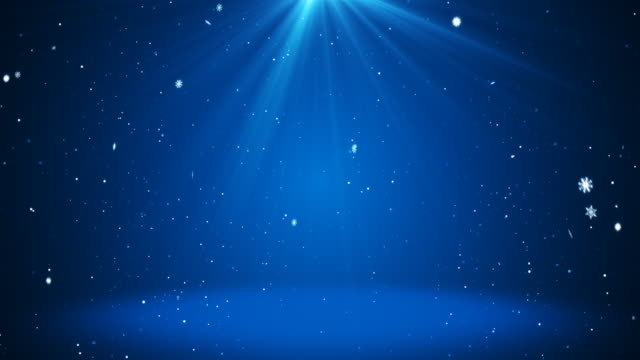 christmas background - 4k - blue background stock videos & royalty-free footage