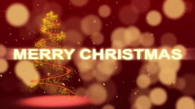Christmas Background Animation