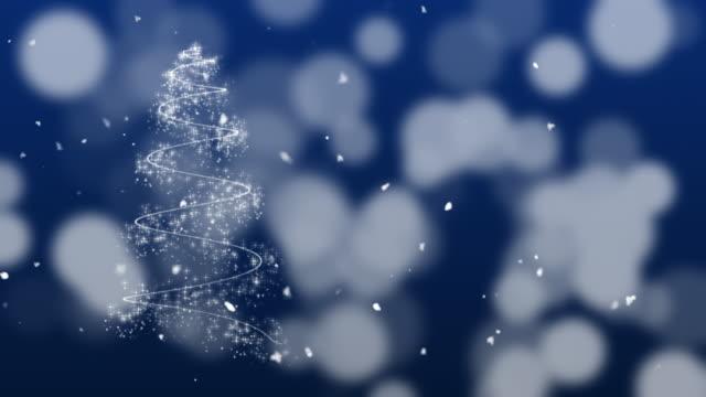 Christmas Background Animation,blue background
