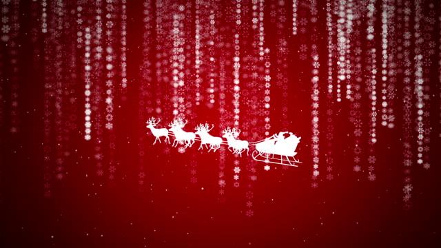 Weihnachten Hintergrund mit Schneeflocken-Codes Raining zufällige