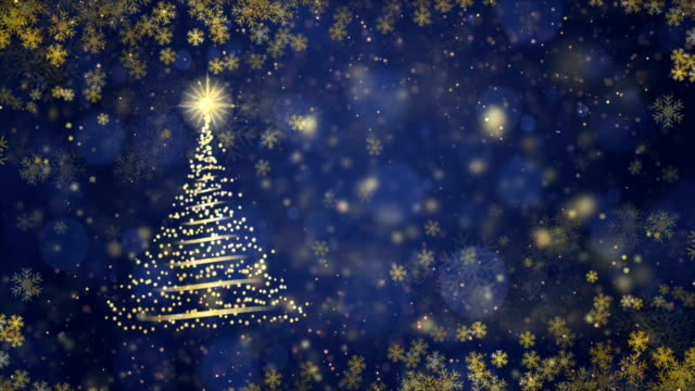christmas background, seamless loop, 4k - christmas tree stock videos & royalty-free footage