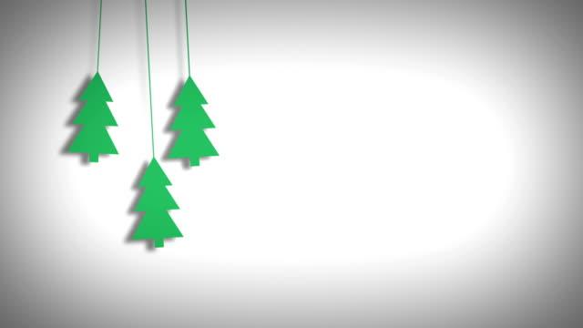 sfondo natalizio - incorniciatura video stock e b–roll