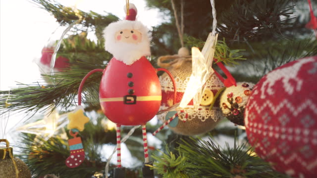 christmas background. - figurine stock videos and b-roll footage