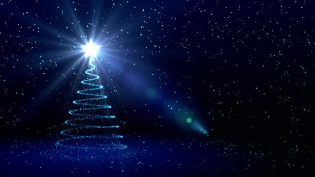 weihnachten hintergrund, weihnachtsbaum - weihnachtsbaum stock-videos und b-roll-filmmaterial