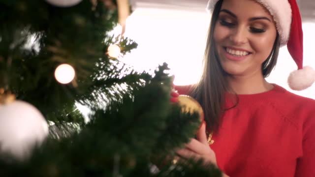 christmas ball debica/ poland - santa hat stock videos & royalty-free footage