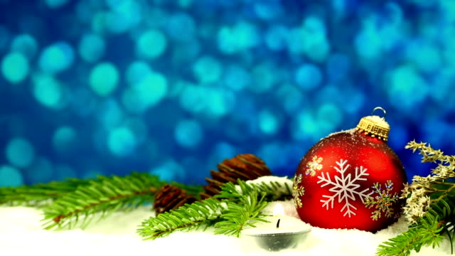 christmas bauble with candle - advent stock videos & royalty-free footage